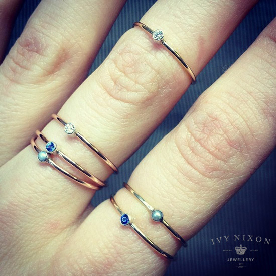 ivynixonjewellery rings  - madeofjewelry