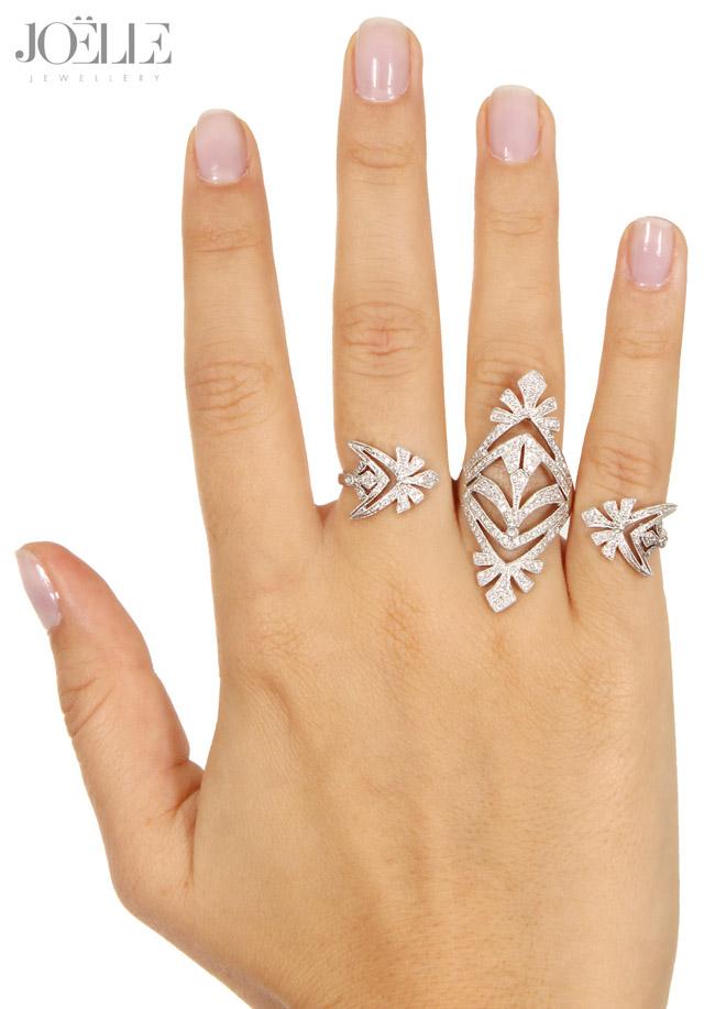 joelle jewellery 3fingers ring - madeofjewelry