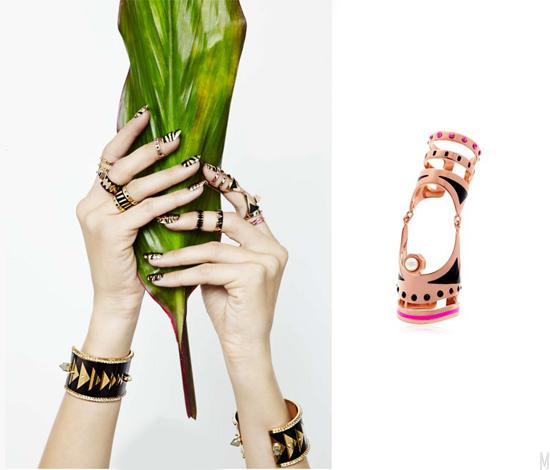 maria francesca pepe ss14 - madeofjewelry