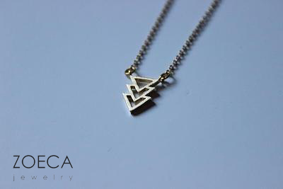zoeca jewelry triangle - madeofjewelry