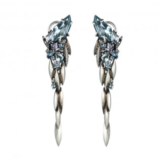 alexis bittar Cool Heather Marquis Cascade Post Earring - madeofjewelry