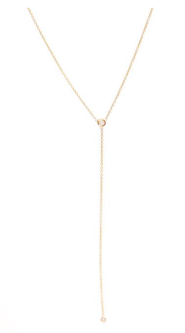 ariel gorodon diamond lariat - madeofjewelry