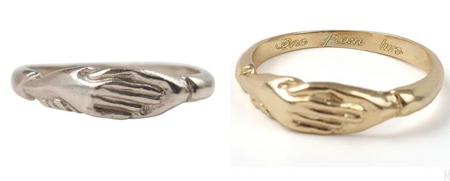 catbirdnyc pas de deux ring - madeofjewelry