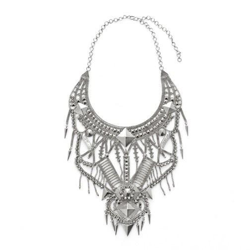 noir indira rhodium - madeofjewelry