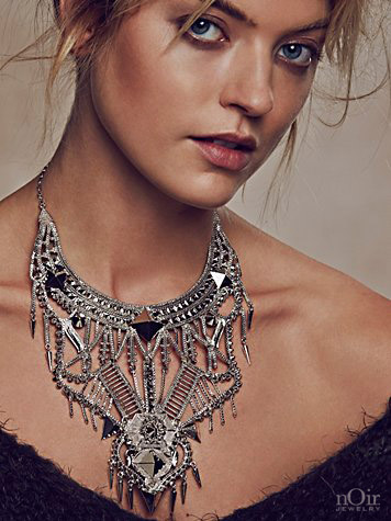 noir jewelry indira necklace - madeofjewelry