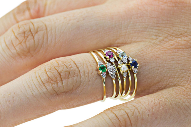 Babyanything lady capulet rings - madeofjewelry