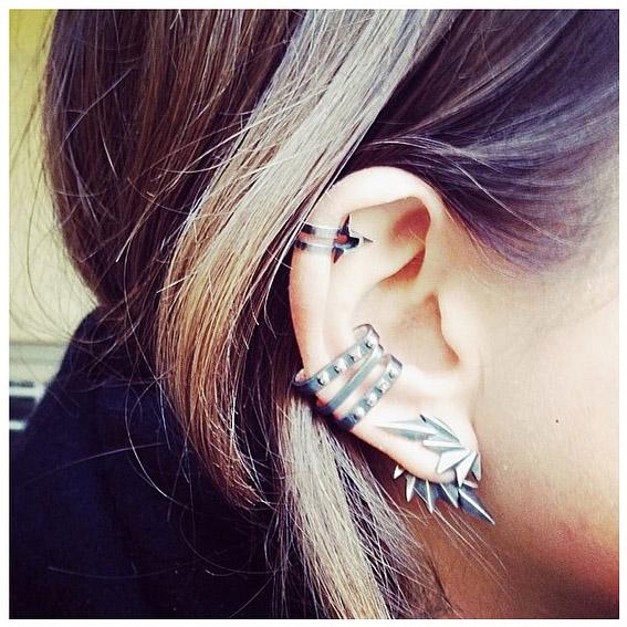 maria black earswag - madeofjewelry