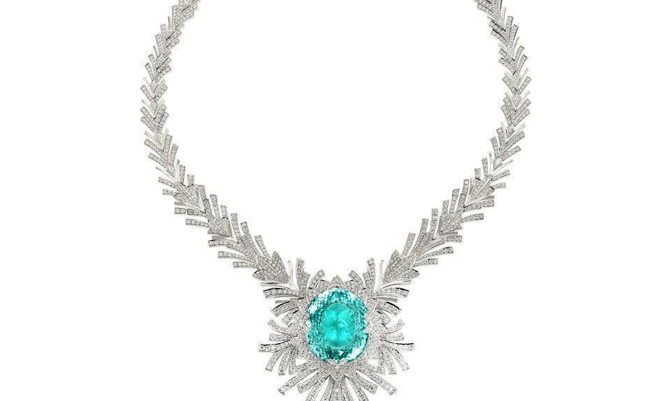 Kat florence paraiba tourmaline necklace made of jewelry kat florence paraiba tourmaline necklace made of jewelry jewelry blog aloadofball Image collections