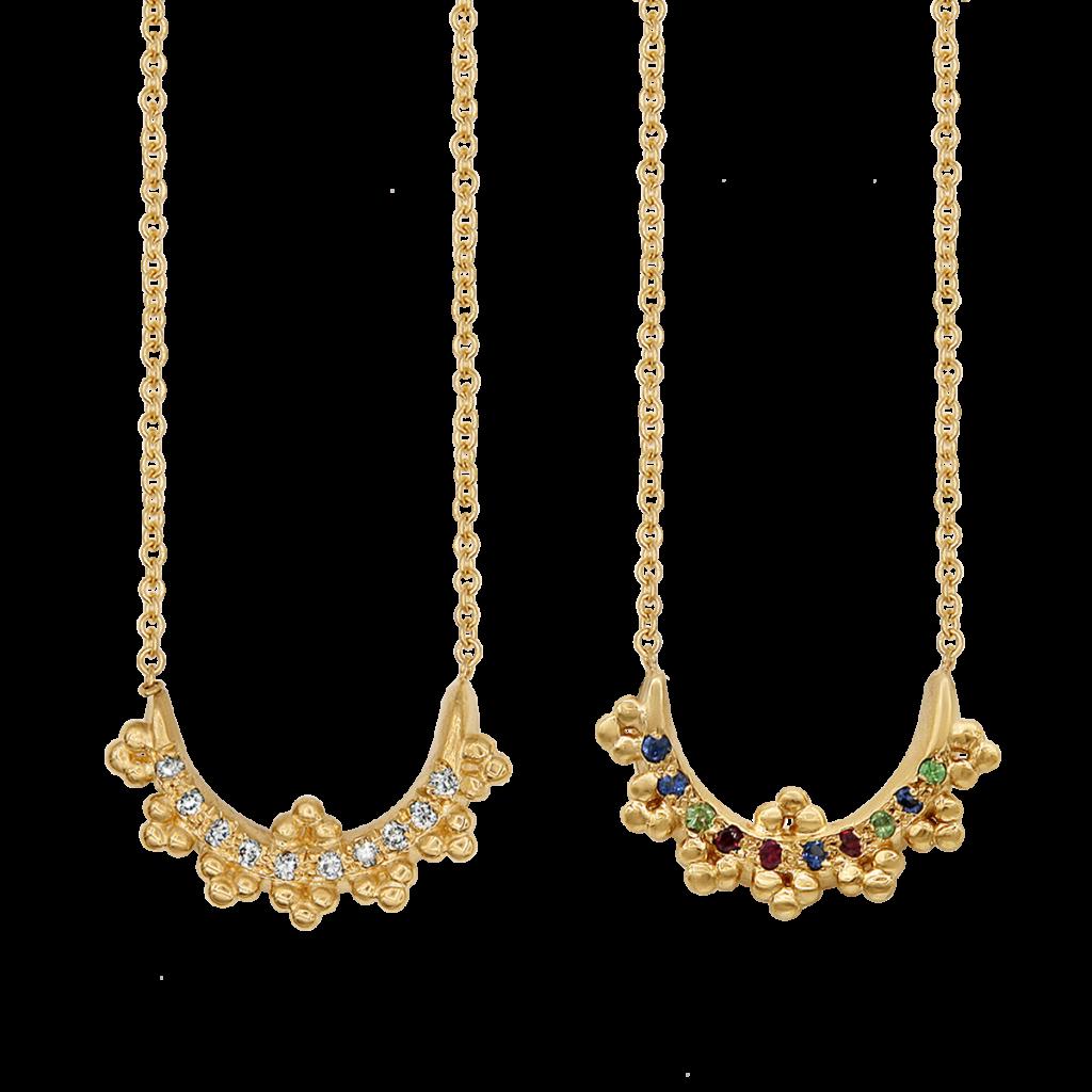 Meitlove Artemis Bow necklace