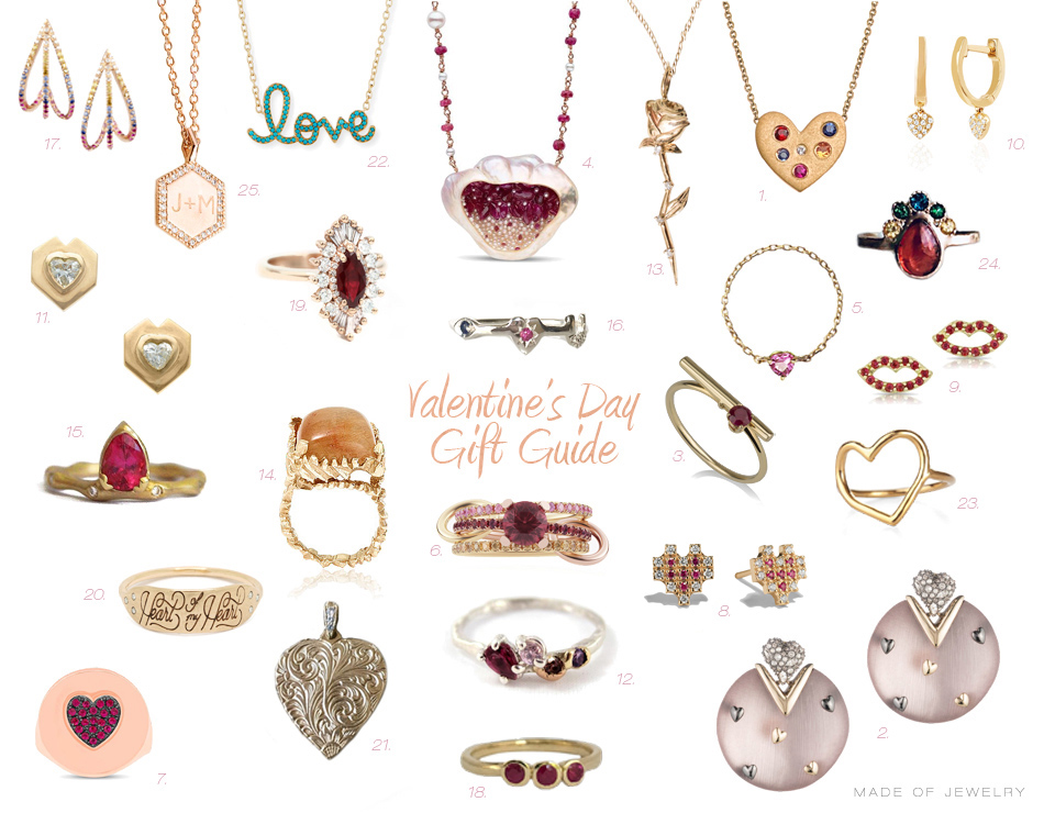 Valentine S Day Gift Guide Made Of Jewelry Jewelry Blog